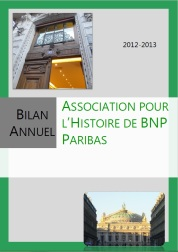 couverture bulletin annuel 2012-2013