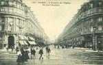 Avenue Opéra pluie