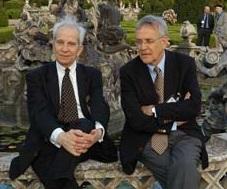 Pierre de Longuemar et Peter Hertner (de gauche à droite)