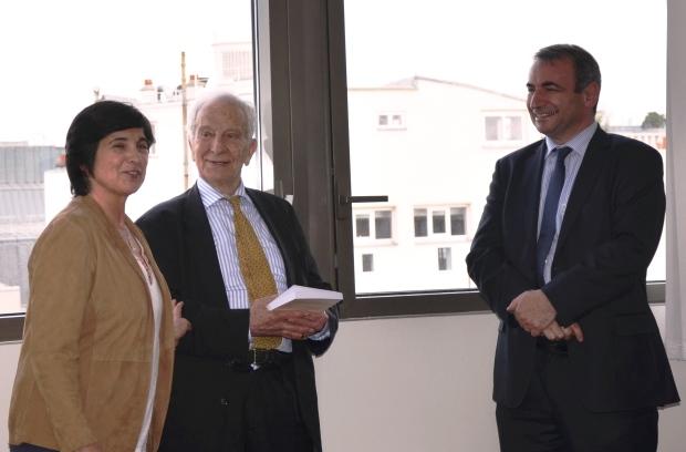 Laure Quennouëlle, Pierre de Longuemar et Roger Nougaret