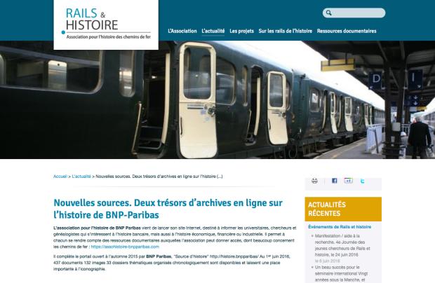 Rail&Histoire