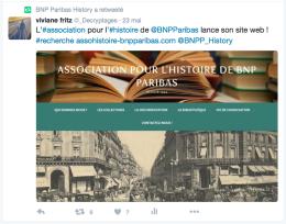 Retweet d'Archives & Histoire
